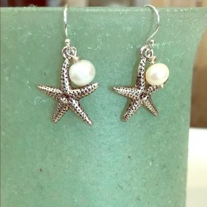 Beach treasures fishhook earrings